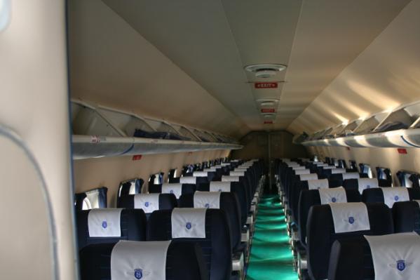 douglas-dc-4-skymaster-interior